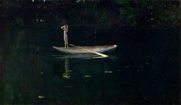 Alexander Harrison, La Solitude