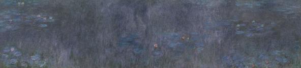 "Claude Monet, ""Reflets d'arbres"""
